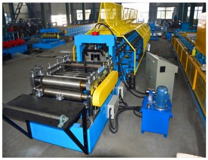 C/Z Interchangeable Roll Forming Machine