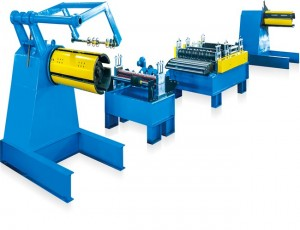 Simple Slitting Line for Metal Strip