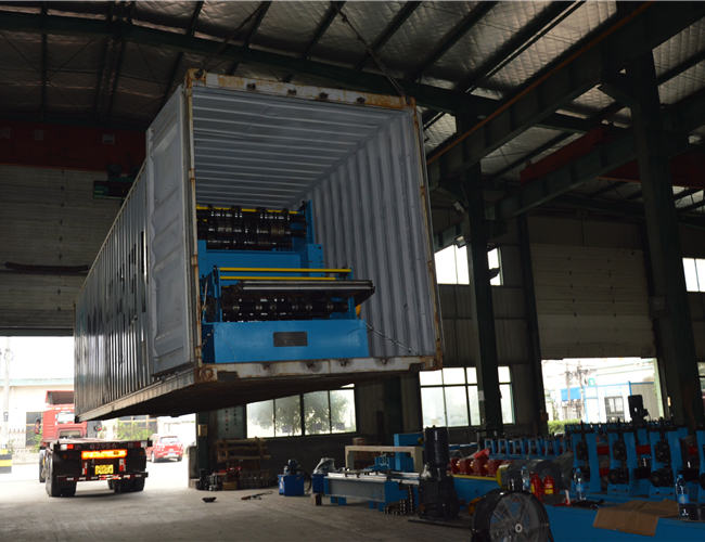 Deck floor machine ship to Colombia