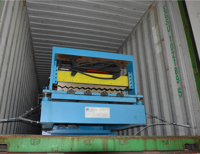 Corrugated roll forming machine3