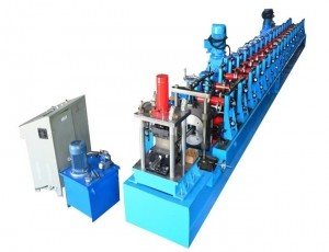 Strut Channel Roll Forming Machine