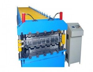 Double Layer/Deck Floor and Corrugated Roll Forming Machine
