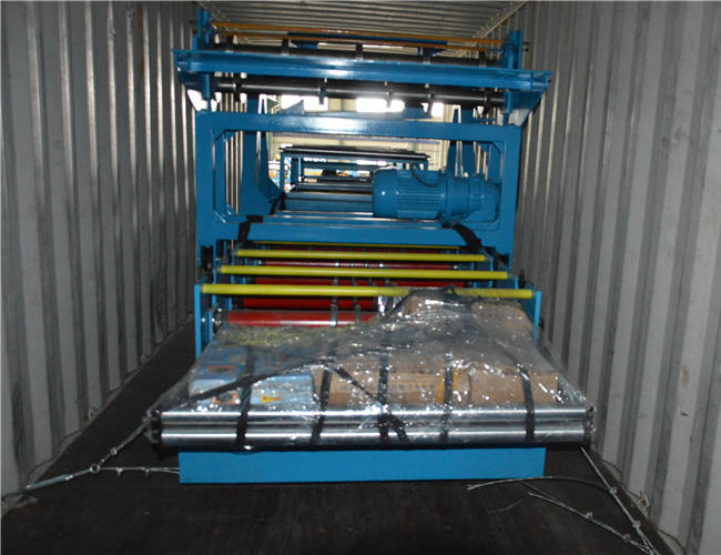 Corrugated roll forming machine1