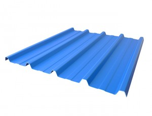 PPGI Metal Roofing Panel / Galvanized Steel Coil Prepainted Roofing Sheets