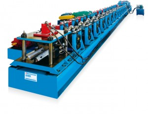 High Efficiency Metal Highway Roll Forming Machine