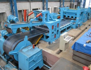 DBSL-4 × 1600 Coil Steel Slitting Machine Line