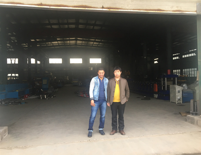 201805 Saudi customer finish inspeciton successfully in our factory