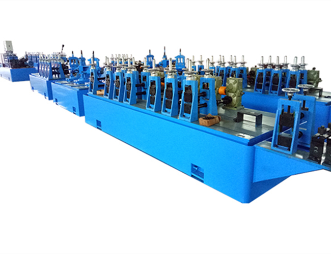 High-frequency welding tube mill