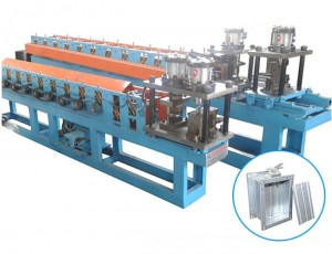 Metal Fire Damper Roll Forming Machine