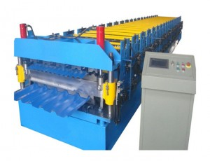 Double Layer/IBR and Corrugated Roll Forming Machine