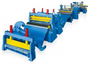 Metal Steel Sheet Sitting Machine Line