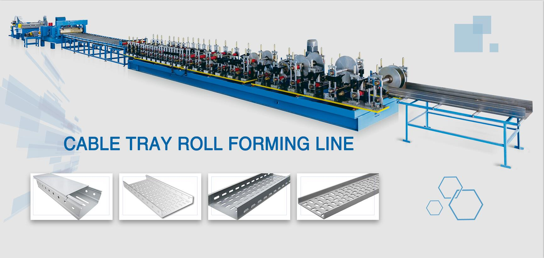 CABLE TRAY ROLL pagbabalangkas makina
