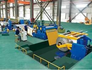 DBSL-8×1600 Metal Slitting Line
