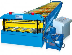 Cold Rolling Floor Deck Forming Machinery