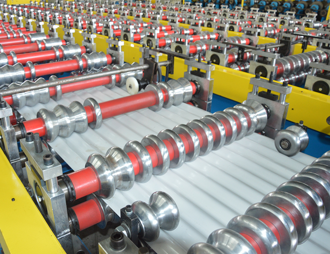 Corrugated Roof Sheet Roll Forming Metal Machine Features