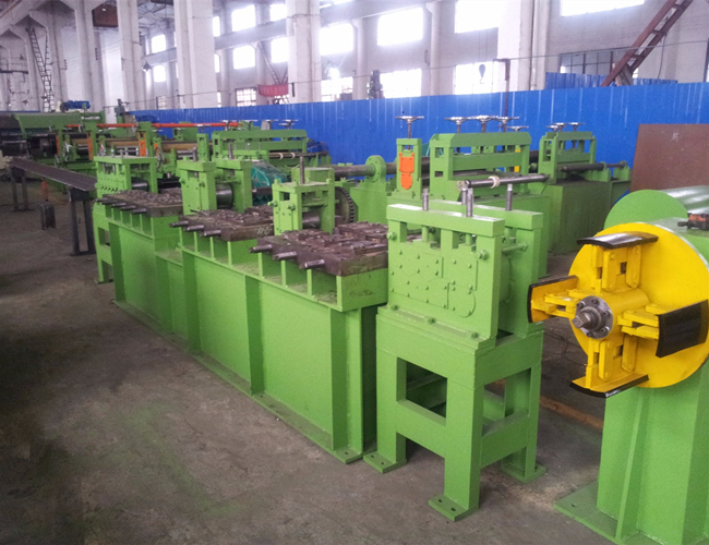 Cutting To Length Line Machine For The Steel Metal Coil Sheet